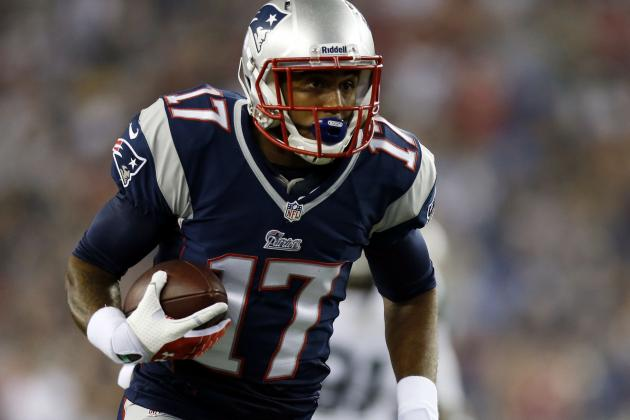 Notebook: Rookie Aaron Dobson 'feeling Better'