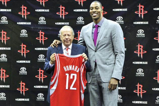 Rockets Owner Leslie Alexander Calls Dwight Howard a Top-3 NBA Star