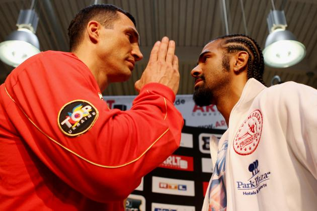 Wladimir Klitschko Insults David Haye and Dereck Chisora with Dogs Jibe