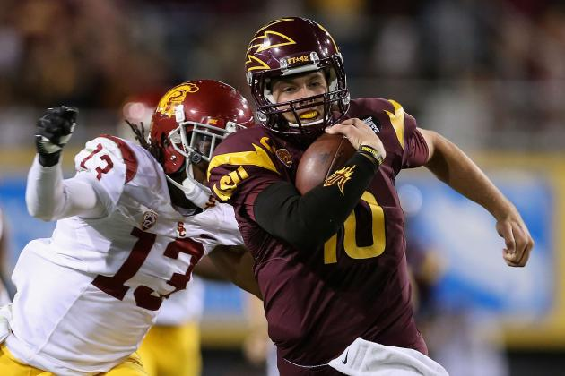 ASU vs. Notre Dame: Explosive Players to Watch for in Prime Time Matchup