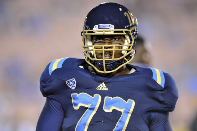 UCLA Starting LT Torian White out with Broken Ankle