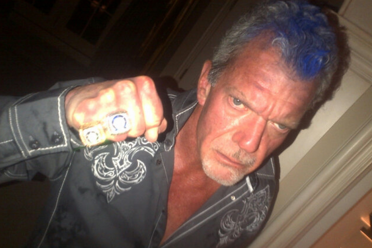 Colts Owner Jim Irsay and His Blue Mohawk Want You to 'Fire Up'