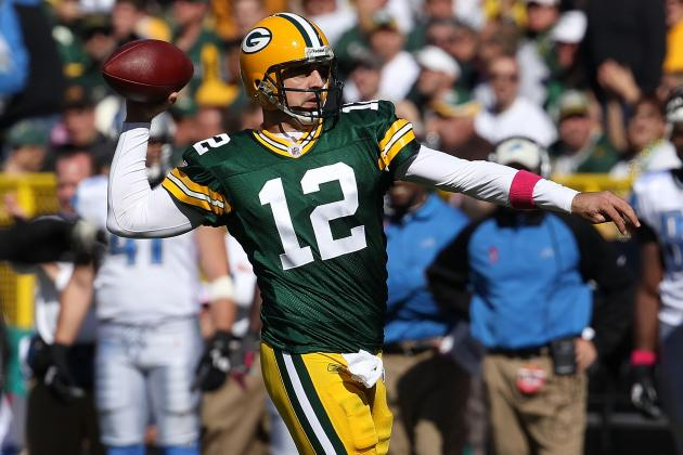 Green Bay Packers vs. Detroit Lions: Aaron Rodgers Is a Lion Tamer