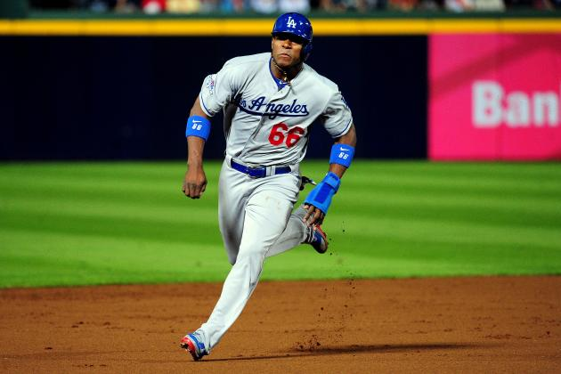 Yasiel Puig Already Silencing Critics of Attitude, Approach to the Game in NLDS