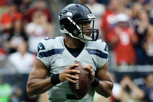 Seahawks' Russell Wilson on Facing Andrew Luck and the Colts
