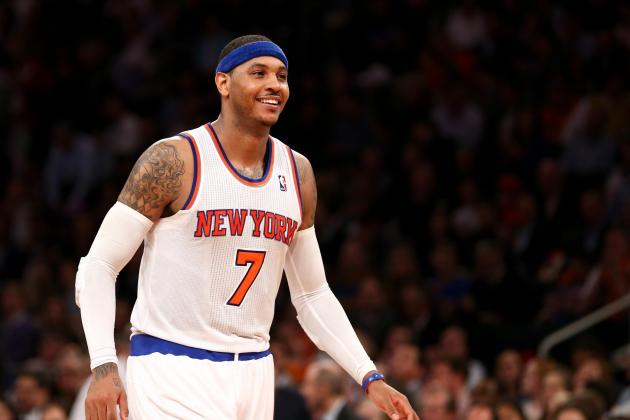 Why NY Knicks Can't Afford to Abandon Small-Ball Lineup Around Carmelo Anthony