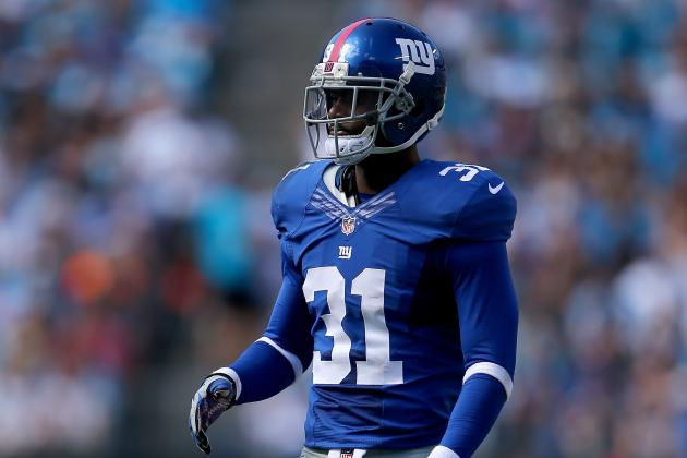 Giants Rule out Six Players for Sunday