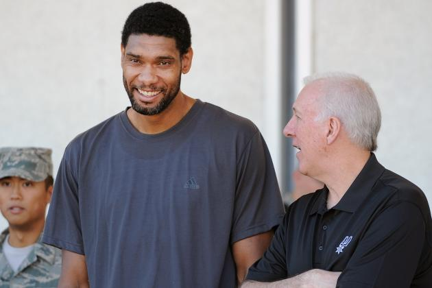 10 San Antonio Spurs Training Camp Storylines