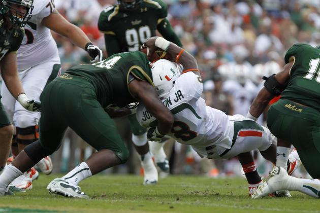 Canes Want to See Improvement in Short-Yardage, Goalline Offense