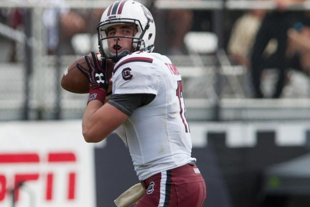Thompson Comfortable in Backup for South Carolina