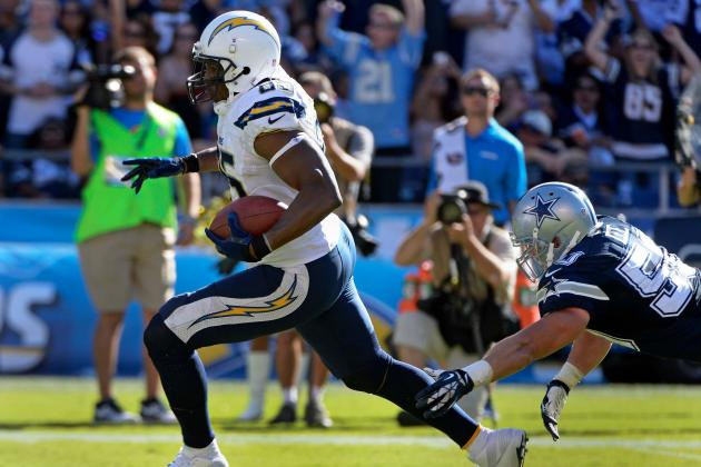 Breaking Down Antonio Gates' Role in San Diego Chargers' 2013 Offense
