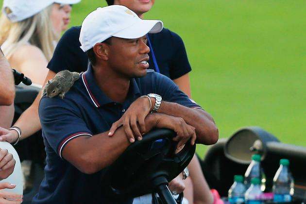 Tiger Woods Presidents Cup 2013: Team Environment Helps Relieve Stress from Star