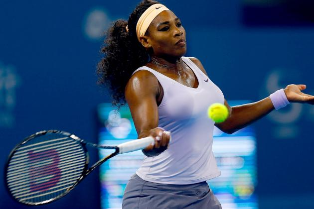 Serena Beats Wozniacki, Faces Radwanska Next