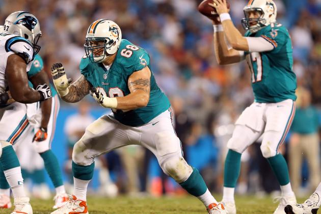 Dolphins Offensive Line Holds the Key to Ryan Tannehill Rebound vs. Ravens