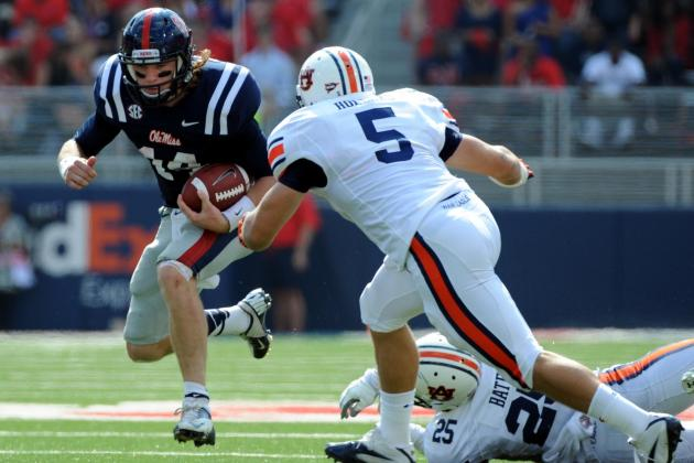 Ole Miss vs. Auburn: Live Score and Highlights