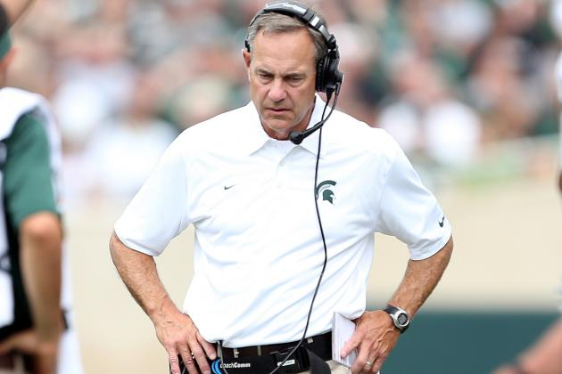 Michigan State's Mark Dantonio Admires Iowa's Consistency