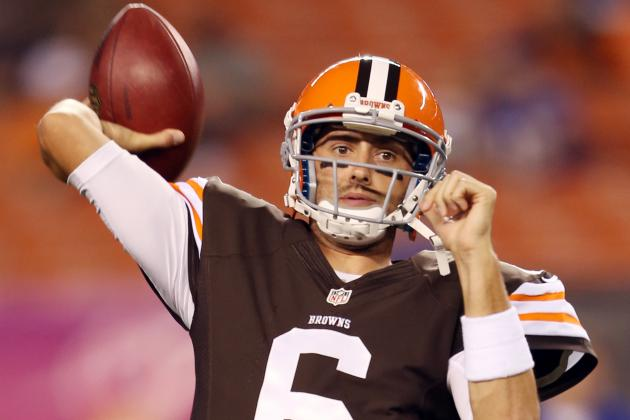 Former MSU QB Brian Hoyer out for Season with Browns After Knee Injury