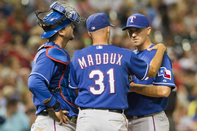 Report: Rangers' Maddux Interested in Cubs
