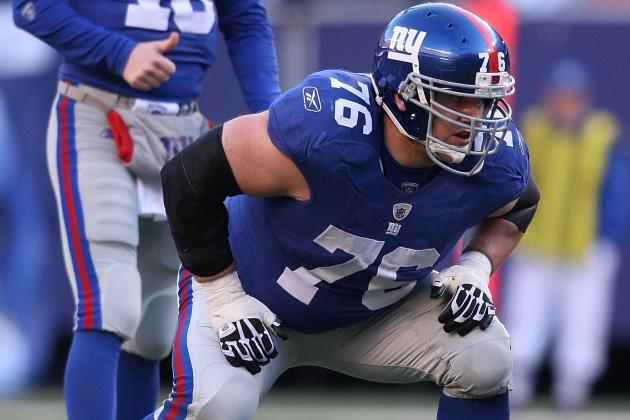 Giants Place Guard Chris Snee on IR