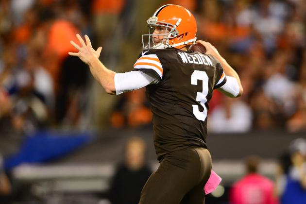 Is Brandon Weeden the Cleveland Browns' Best Option for Replacing Brian Hoyer?