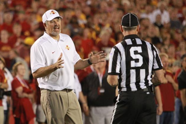 Big 12 Football: Conference Made Right Call After Reviewing Gray's