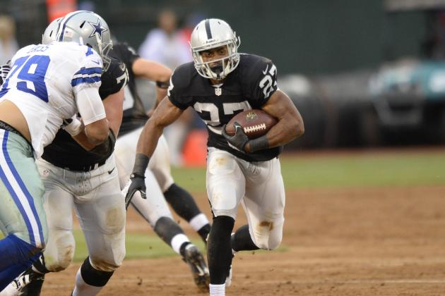 Rashad Jennings Is Must-Start Fantasy RB with Darren McFadden Injury