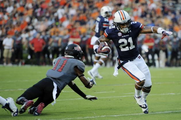 Auburn Football: Tigers Ready to Run All Over Rebels