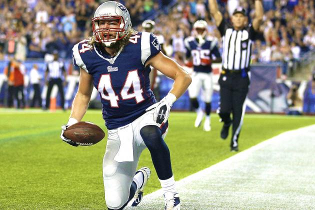 TE Zach Sudfeld Released by New England Patriots, Claimed by Jets