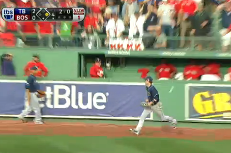 Rays vs. Red Sox Video: Watch Wil Myers Botch David Ortiz's Fly Ball