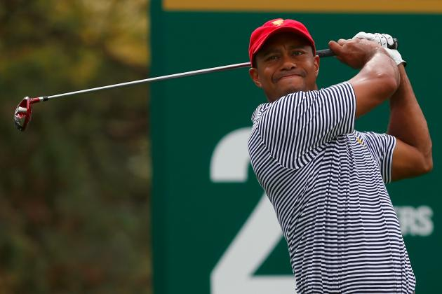 Tiger Woods at Presidents Cup 2013: Day 2 Recap and Twitter Reaction