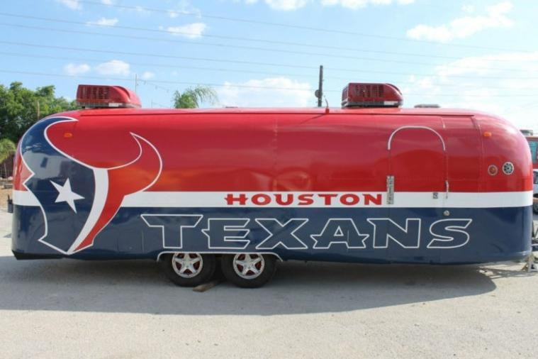 Houston Texans Fan Has a Sick 1975 Airstream Trailer for $125K