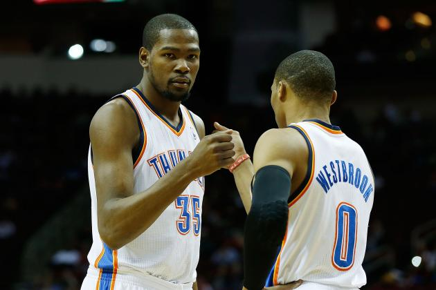 Kevin Durant, OKC Thunder Eye NBA Title Despite Westbrook Injury