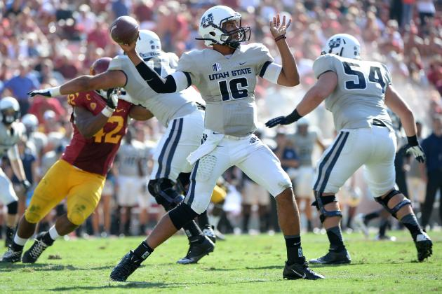 Chuckie Keeton Injury: Update on Utah State QB's Knee, Likely Return Date