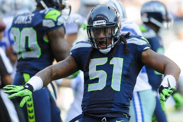 How Much of an Impact Can Bruce Irvin Make in His Return vs. the Colts?