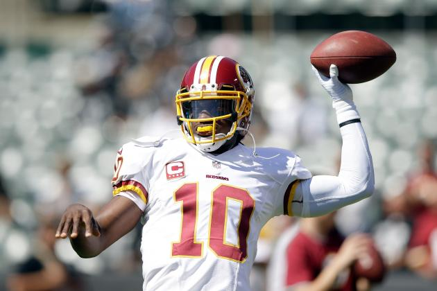 Robert Griffin III Will Continue to Shake Off Rust as Season Progresses