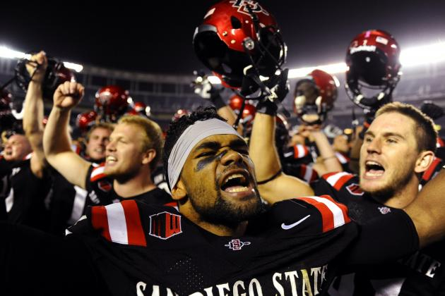 Aztecs Hold out to Beat Nevada 51-44 in OT
