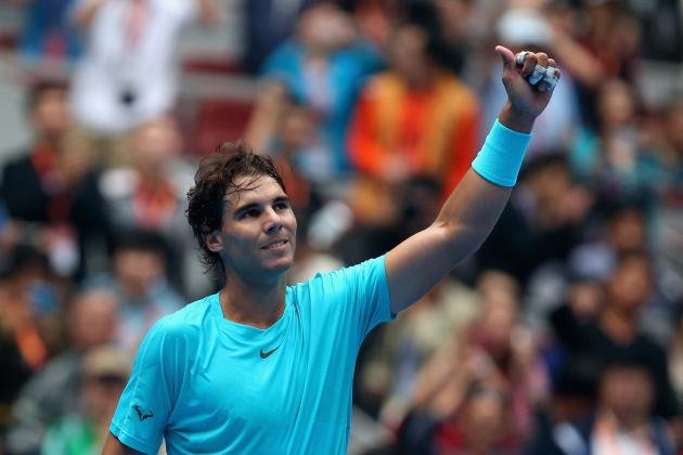 Rafael Nadal Becomes World No. 1 in Men's Singles at China Open