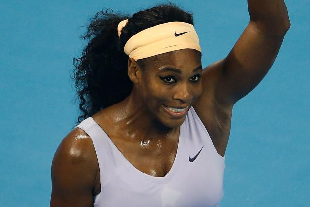 Serena Eases into China Open Final