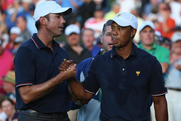 Tiger Woods and Matt Kuchar vs. Adam Scott and Hideki Matsuyama Will Steal Show
