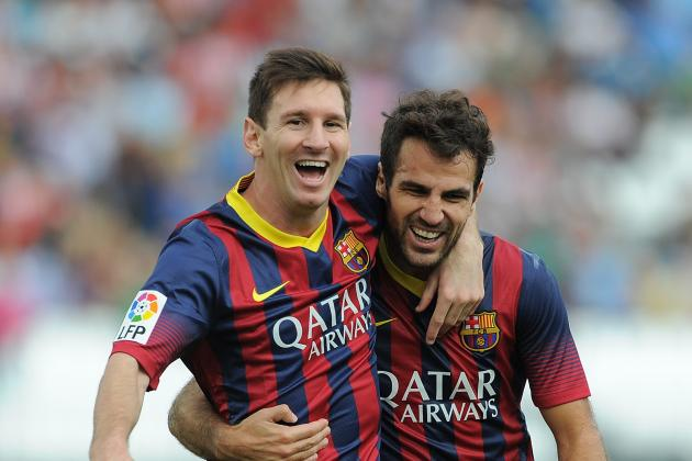 Cesc Fabregas Is the Player to Benefit Most from Lionel Messi's Injury