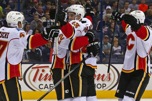 Ottawa 67′s Captain Sean Monahan Scores First NHL Goal for Calgary Flames
