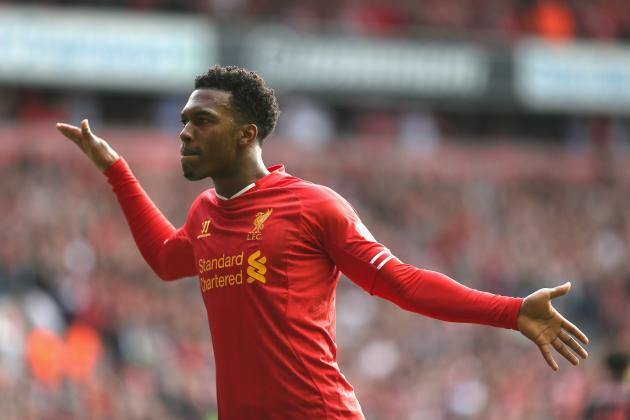 GIF: Liverpool's Daniel Sturridge Puts Crystal Palace in a Spin