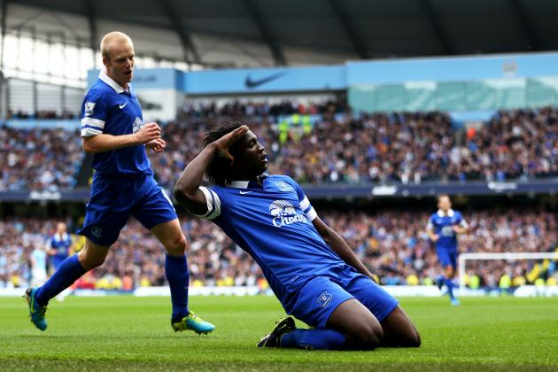 Romelu Lukaku's Quiet Second Half vs. Manchester City Shows Everton Need Options