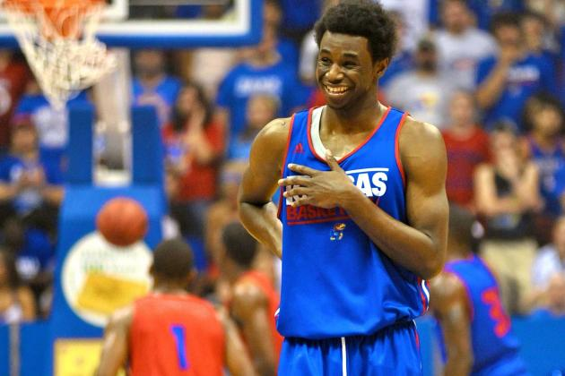 Andrew Wiggins Mania Has Begun at Kansas