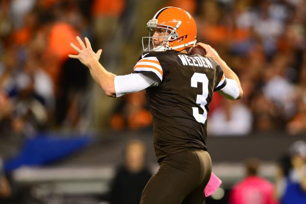 Brandon Weeden's in-Season Improvement Key to Cleveland Browns' Playoff Hopes