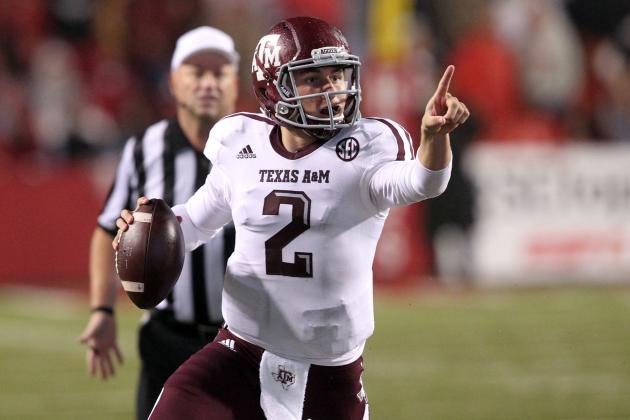Johnny Manziel Must Be Considered Front-Runner for Heisman Trophy