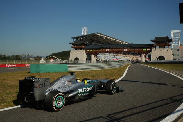 Korean F1 Grand Prix 2013: Start Time, Lineup, TV Schedule and More