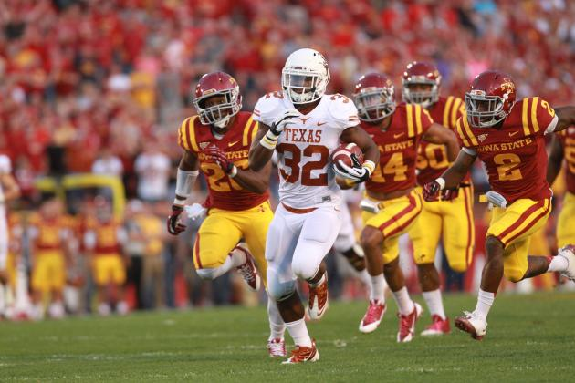 Texas' Run Game Is Mack Brown's Only Hope vs. Oklahoma with David Ash Sidelined