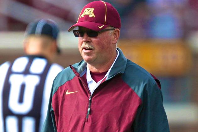 Minnesota Head Coach Jerry Kill Won't Coach vs. Michigan After Having Seizure