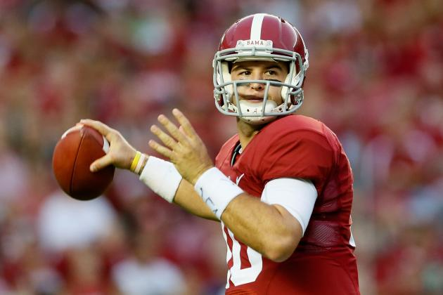 AJ McCarron's Updated 2013 Heisman Outlook After Epic Showing vs. Georgia State